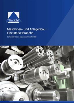 Maschinen- Anlagenbau